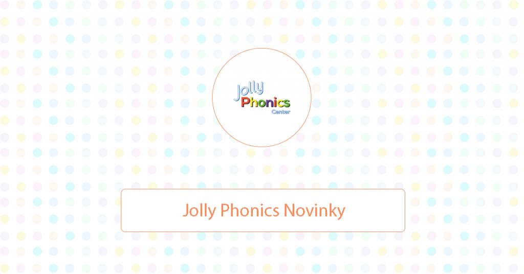 Jolly Phonics Novinky